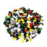 200PCs Universal Plastic Rivets Automobile Expansion Screws