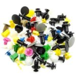 500PCs Universal Auto Fastener Vehicle Car Bumper Clips Retainer Fastener Rivet