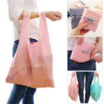 Fashion Printing Large-capacityShopping Bag Storage Bag – Random Color