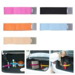 5PCs Car Trunk Fixed Belt Fasten Bandage Organizer Elastic Straps 20 x 5cm – Random Color