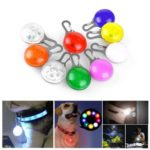 Clip-on LED Light for Pet Safety – Random Color