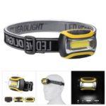 Mini COB LED Headlamp Waterproof Headlight for Camping Night Fishing