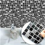 New                                                       10pcs 15 x 15cm DIY Home Self Adhesive Backsplash Mosaic Wall Sticker Wall Tile Peel and Stick
