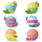 6pcs Bath Salt Ball Bubble Shower Bombs Oil Spa Body Skin Whitening – Set A