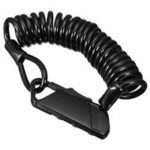 New                                                       Bicycle & Electric Scooter Lock Cable Portable Multifunction Universal Combination – Black