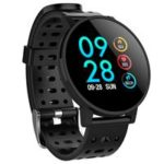 Makibes T3 Smart Watch 1.3 Inch IPS Screen Heart Rate Blood Pressure Monitor IP67 – Black