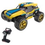 New                                                       Wltoys 12402-A D7 2.4G 1/12 4WD 45km/h Electric Rock Crawler Climbing Turck RC Car RTR – Yellow & Blue