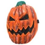 New                                                       Halloween Scary LED Mask Pumpkin Lantern EL Wire Glowing LED Cosplay Mask For Festival – A