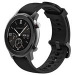 New                                                       Xiaomi AMAZFIT GTR Smartwatch 1.2 Inch AMOLED Display 5ATM Water Resistant GPS 42mm Global Version – Black