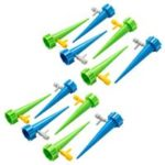 New                                                       12 pcs Adjustable Watering Dripper Irrigation Device For Potted Plant Flower Vegetables