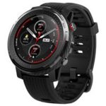 New                                                       Huawei AMAZFIT Stratos 3 Smart Sports Watch 1.34 Inch Full Moon Screen Dual-Mode 5ATM GPS Firstbeat Silicone Strap – Black