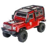 New                                                       RGT 136240 V2 ADUENTURER 1/24 2.4G 4WD 15km/h MINI Off-road Rock Crawler Climbing Vehicle RC Car Model RTR – Red