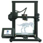 "New                                                       TRONXY XY-2 3.5"" Touch Screen 3D Printer 220*220*260mm Automatic Alignment Continuous Printing USB – Black"