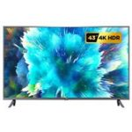 "New                                                       Xiaomi Mi TV 4S 43"" Android 9.0 4K UHD Smart TV Dolby + DTS DVB-T2/C 2GB/8GB 2.4G/5G WIFI Bluetooth HDMI*3 USB*3 Google Assistant Youtube Amazon Prime – Black"