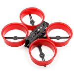 New                                                       Reptile CLOUD-149 149mm 3 Inch X-type Division Carbon Fiber Frame Kits For FPV Racing Drone – Red