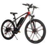 New                                                       Samebike MY-SM26 Folding Electric Moped Bike 350W Motor 8Ah Battery Max 30km/h 26 Inch Inflatable Tire – Black