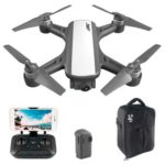 New                                                       JJRC X9P Heron 4K Version 5G WIFI 1KM FPV GPS RC Drone With 2-Axis Gimbal 50X Digital Zoom Optical Flow Positioning RTF – White Two Batteries With Bag