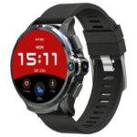 New                                                       Kospet Prime 4G Smartwatch Phone 1.6 Inch Android 7.1 MTK6739 Dual-chip 3GB RAM 32GB ROM GPS WiFi Heart Rate Monitor Silicone Strap – Black