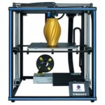 "New                                                       Tronxy X5SA Pro 330X330X400mm Industrial 3D Printer 3.5"" Touch Operating Screen Titan Extruder Auto-leveling – Blue"