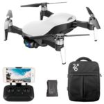 New                                                       JJRC X12 AURORA 4K 5G WIFI 1.2km FPV GPS Foldable RC Drone With 3Axis Gimbal 50X Digital Zoom Ultrasonic Positioning RTF – White Two Batteries with Bag