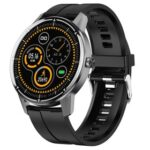 New Makibes R8 Smart Watch 1.3 Inch IPS Touch Screen IP67 Heart Rate Blood Pressure Monitor – Black