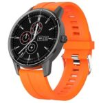 New Makibes R8 Smart Watch 1.3 Inch IPS Touch Screen IP67 Heart Rate Blood Pressure Monitor – Orange