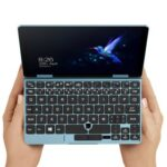 New One Netbook One Mix 1S+ Gaming Laptop Intel Core M3-8100Y 7 Inch 1920 x 1200 Multi-Touch IPS Screen Windows 10 8GB RAM 256GB SSD Fingerprint Recognition PD Fast Charge English Version – Blue