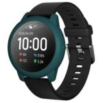 New Soft Silicone Protective Shell For Xiaomi Haylou Solar LS05 Smartwatch – Dark Green