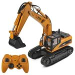 New Wltoys 16800 2.4G 8CH 1/16 RC Excavator with Light Sound Function Engineering Vehicle RTR