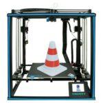 New Tronxy X5SA-2E 24V 3D Printer 330*330*400mm Dual Titan Extruders Ultra-Silent Driver CoreXY Structure Dual Color Printing Auto Leveling