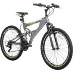 New Merax 26 Inch Mountain Bike with Full Suspension 21-Speed Aluminum Frame Bicycle