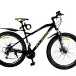 New Kugel Blackburn 29 Inch Mountain Bike Aluminum Alloy Frame Material Shimano Gear Front Suspension and Disk Brakes – Black/Gold