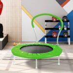 New 36 INCH TRAMPOLINE WITH HANDLE(GR)
