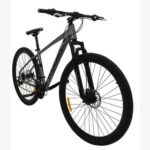New Kugel H-Hybrid 29 Inch Mountain Bike Aluminum Alloy Frame Material Shimano Gear Front Suspension and Disk Brakes – Grey