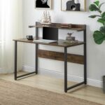 New Home Office Multifunctional Computer Desk with Shelf – Tiger