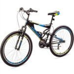 New Merax Falcon Full Suspension Mountain Bike Aluminum Frame 21-Speed 26-inch Bicycle