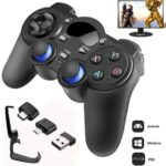 New 2.4G Wireless Game Controller with OTG Converter For PS3/Smart Phone Tablet PC Smart TV BOX
