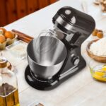 New Geek Chef 4.5L Stainless Steel Stand Mixer with Tilt Head, 12 Speed Settings – Black