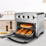New Geek Chef 1700W Air Fryer Oven 23QT Capacity, with 3-Layer Shelf, for Low-oil and Low-fat Frying, Roasting, Reheating – Silver