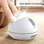New RENPHO Steam Foot Spa Massager, Fast Heating, Improve Blood Circulation, Relieve Pain and Pressure – White