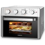New WEESTA KA23W Air Fryer Oven 23L Capacity 1500W Power with Air Fry, Roast, Toast, Broil, Bake Function – Silver