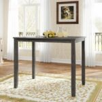 New TREXM Wood Farmhouse Counter Height Dining Table, for Restaurant, Cafe, Tavern, Living Room – Gray