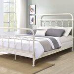 New ACME Citron Full Bed Frame White Finish