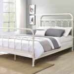 New ACME Citron Queen Bed White Finish