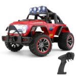 New Wltoys 322221 2.4G 1/32 2WD Mini Off-Road RC Car with Light 25km/h – Red